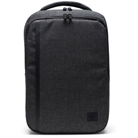 Herschel Travel Daypack black crosshatch